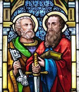 El Papa San Pedro y San Pablo